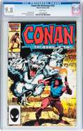 Modern Age (1980-Present):Miscellaneous, Conan the Barbarian #181 (Marvel, 1986) CGC NM/MT 9.8 White pages....