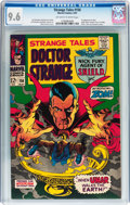 Silver Age (1956-1969):Horror, Strange Tales #156 (Marvel, 1967) CGC NM+ 9.6 Off-white to whitepages....