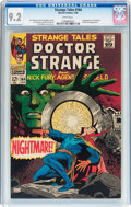 Silver Age (1956-1969):Horror, Strange Tales #164 (Marvel, 1968) CGC NM- 9.2 White pages....