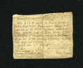 Colonial Notes:North Carolina, North Carolina 1756 - 1757 (written dates) £5 Good-Very Good....