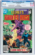 Modern Age (1980-Present):Horror, Secrets of Haunted House #24 (DC, 1980) CGC NM+ 9.6 White pages....