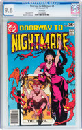 Bronze Age (1970-1979):Horror, Doorway to Nightmare #2 (DC, 1978) CGC NM+ 9.6 White pages....