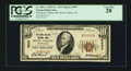 National Bank Notes:Pennsylvania, Seven Valleys, PA - $10 1929 Ty. 1 The Seven Valleys NB Ch. # 9507. ...