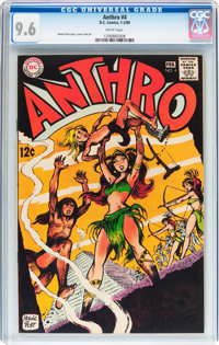 Anthro #4 (DC, 1969) CGC NM+ 9.6 White pages