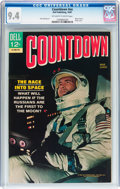 Silver Age (1956-1969):Adventure, Movie Classics: Countdown (Dell, 1967) CGC NM 9.4 Off-white to white pages....