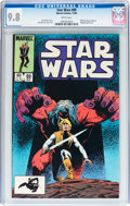 Modern Age (1980-Present):Science Fiction, Star Wars #89 (Marvel, 1984) CGC NM/MT 9.8 White pages....