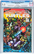 Modern Age (1980-Present):Superhero, Teenage Mutant Ninja Turtles #7 (Mirage Studios, 1986) CGC NM/MT9.8 White pages....