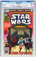 Modern Age (1980-Present):Science Fiction, Star Wars #32 (Marvel, 1980) CGC NM+ 9.6 White pages....