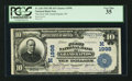 Grand Rapids, WI - $10 1902 Plain Back Fr. 628 The First NB Ch. # (M)1998