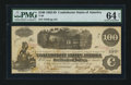 Confederate Notes:1862 Issues, T40 $100 1862 PF-1 Cr. 300. ...