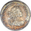 Early Half Dimes, 1800 H10C V-1, LM-1, R.3, MS63 PCGS Secure. CAC....