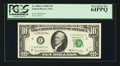Small Size:Federal Reserve Notes, Fr. 2020-E $10 1969B Federal Reserve Note. PCGS Very Choice New 64PPQ.. ...