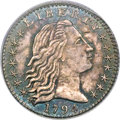 Early Half Dimes, 1794 H10C V-3, LM-3, R.4, MS65 PCGS. CAC....