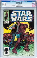 Modern Age (1980-Present):Science Fiction, Star Wars #91 (Marvel, 1985) CGC NM/MT 9.8 White pages....