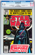 Modern Age (1980-Present):Science Fiction, Star Wars #39 (Marvel, 1980) CGC NM+ 9.6 White pages....