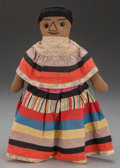 American Indian Art:Beadwork and Quillwork, A SEMINOLE FEMALE DOLL...