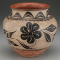 American Indian Art:Pottery, A SANTO DOMINGO POLYCHROME JAR. c. 1920...