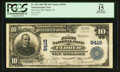 National Bank Notes:Pennsylvania, Eldred, PA - $10 1902 Plain Back Fr. 626 The First NB Ch. # 9416. ...