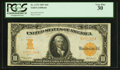 Large Size:Gold Certificates, Fr. 1172 $10 1907 Gold Certificate PCGS Very Fine 30.. ...
