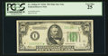 Small Size:Federal Reserve Notes, Fr. 2105-I* $50 Mule 1934C Federal Reserve Note. PCGS Very Fine 25.. ...