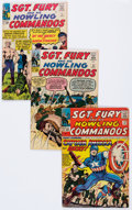 Silver Age (1956-1969):War, Sgt. Fury and His Howling Commandos Group (Marvel, 1963-81) Condition: Average VG-.... (Total: 19 Comic Books)