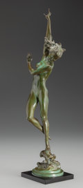 Sculpture, HARRIET WHITNEY FRISHMUTH (American, 1880-1980). Crest of the Wave, 1925. Bronze with green patina. 21 inches (53.3 cm) ...