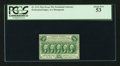 Fractional Currency:First Issue, Fr. 1311 50¢ First Issue PCGS About New 53.. ...