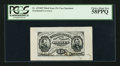 Fractional Currency:Third Issue, Fr. 1274SP 15¢ Third Issue Wide Margin Face PCGS Choice About New 58PPQ.. ...