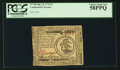 Colonial Notes:Continental Congress Issues, Continental Currency July 22, 1776 $3 PCGS Choice About New 58PPQ.....