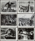 """Movie Posters:Horror, King Kong (RKO, R-1952). Photos (6) (8"""" X 10""""). Horror.. ... (Total: 6 Items)"""