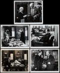 "Movie Posters:Mystery, Sherlock Holmes in Washington & Other Lot (Universal, 1943).Photo & Restrike Photos (8) (8"" X 10""). Mystery.. ... (Total: 9Items)"