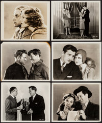 """The Wolf of Wall Street & Others Lot (Paramount, 1929). Photos (23) (8"""" X 10"""") and Portrait Photos (13) (7..."""