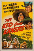"""Movie Posters:Drama, The Kid from Kansas & Other Lot (Universal, 1941). One Sheet (27"""" X 41"""") and Half Sheet (22"""" X 28""""). Drama.. ... (Total: 2 Items)"""