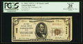 National Bank Notes:Maine, Farmington, ME - $5 1929 Ty. 1 The First NB Ch. # 4459. ...