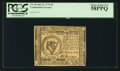 Colonial Notes:Continental Congress Issues, Continental Currency July 22, 1776 $8 PCGS Choice About New 58PPQ.. ...