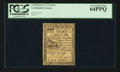 Colonial Notes:Continental Congress Issues, Continental Currency February 17, 1776 $1/3 PCGS Very Choice New64PPQ.. ...