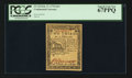 Colonial Notes:Continental Congress Issues, Continental Currency February 17, 1776 $2/3 PCGS Superb Gem New 67PPQ.. ...