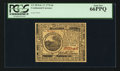 Colonial Notes:Continental Congress Issues, Continental Currency February 17, 1776 $6 PCGS Gem New 66PPQ.. ...