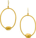 Estate Jewelry:Earrings, Gold Earrings, Yossi Harari. ...