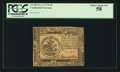 Colonial Notes:Continental Congress Issues, Continental Currency November 2, 1776 $5 PCGS Choice About New 58.. ...