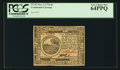Colonial Notes:Continental Congress Issues, Continental Currency November 2, 1776 $6 PCGS Very Choice New64PPQ.. ...