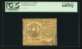 Colonial Notes:Continental Congress Issues, Continental Currency November 2, 1776 $30 PCGS Very Choice New64PPQ.. ...