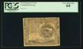Colonial Notes:Continental Congress Issues, Continental Currency February 26, 1777 $4 PCGS Very Choice New 64.....