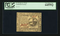 Colonial Notes:Continental Congress Issues, Continental Currency July 22, 1776 $2 PCGS Very Choice New 64PPQ.....