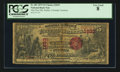 National Bank Notes:Colorado, Pueblo, CT - $5 1875 Fr. 401 The First NB Ch. # 1833. ...