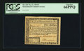 Colonial Notes:Massachusetts, Massachusetts May 5, 1780 $5 PCGS Gem New 66PPQ.. ...