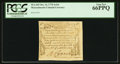 Colonial Notes:Massachusetts, Massachusetts October 16, 1778 4s/6d PCGS Gem New 66PPQ.. ...