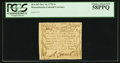 Colonial Notes:Massachusetts, Massachusetts October 16, 1778 2s PCGS Choice About New 58PPQ.. ...