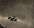 Photographs:Photogravure, ALFRED STIEGLITZ (American, 1864-1946). The Aeroplane, 1910.Photogravure, printed 1911. 5-5/8 x 6-7/8 inches (14.3 x 17...