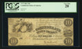 Confederate Notes:1861 Issues, T27 $10 1861 Cr. 222.. ...